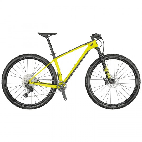 BICICLETA SCALE 930 YELLOW